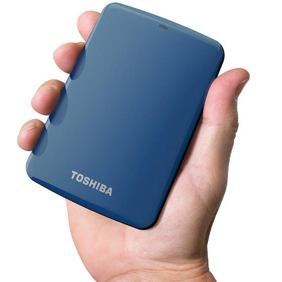Toshiba Canvio Connect Portable Hard Drive Announced