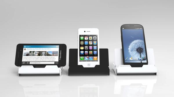 Ugo Docking Station with Wireless Speaker and Backup Battery