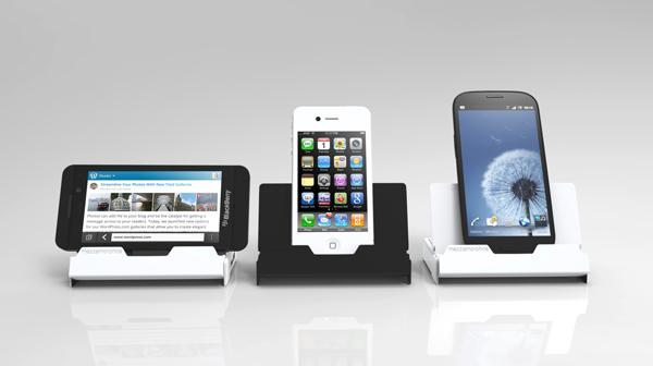 Ugo Docking Station with Wireless Speaker and Backup Battery
