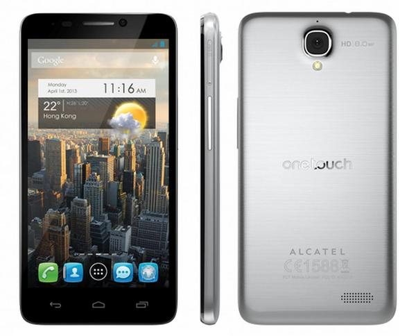 Alcatel One Touch Idol Unlocked Now Available