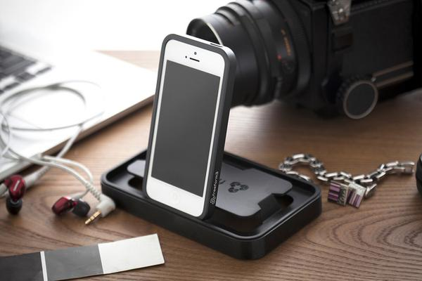 Atrio Aluminum iPhone 5 Case with Smart Dock Packaging