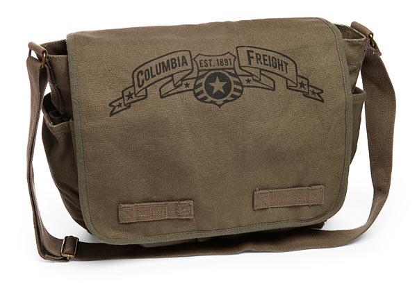 BioShock Infinite Columbia Freight Canvas Messenger Bag