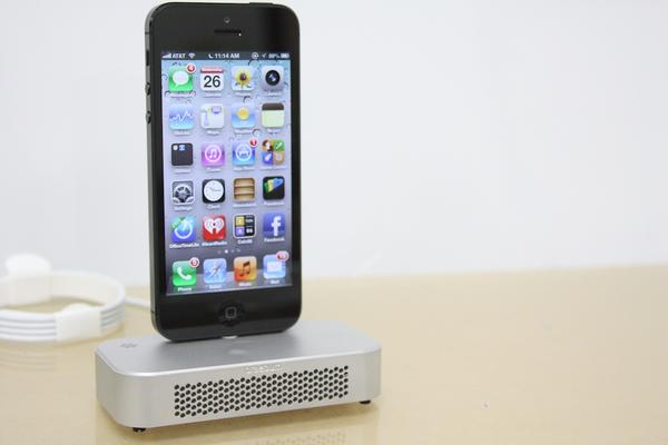 Braebum iPhone 5 Charging Dock with Sound Amplifier