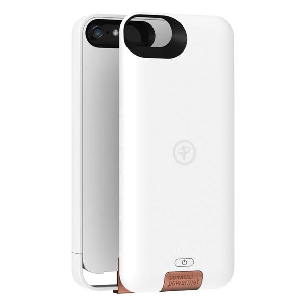 Duracell AccessCase Wireless Charging iPhone 5 Case with Snap Battery