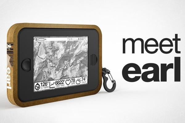 Earl Solar Powered Android Tablet with E-ink Screen