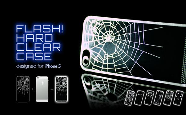 Flash! Hard Clear iPhone 5 Case