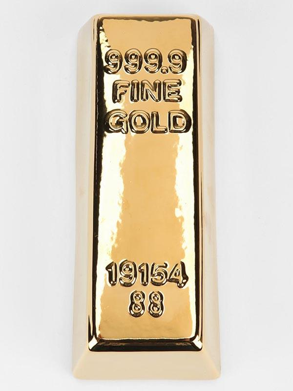 Gold Bar Money Bank