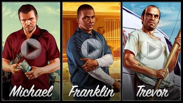 Grand Theft Auto 5 New Game Trailers Released