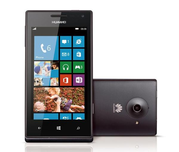 Huawei Ascend W1 Windows Phone 8 Smartphone Announced