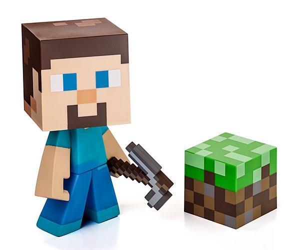 Minecraft Steve Vinyl Figures