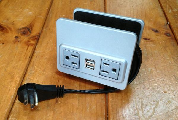 Nuplug the Convenient Surge Protector with USB Ports