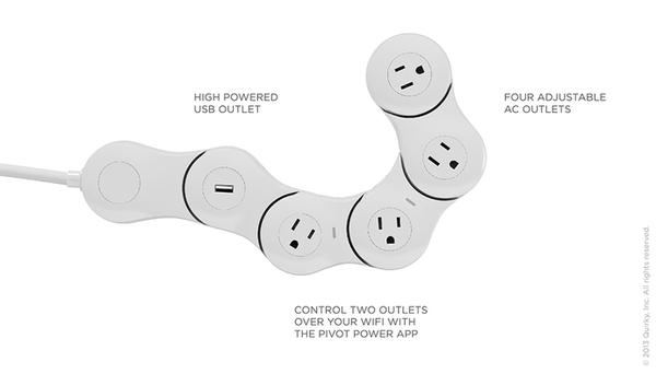 Pivot Power Genius App Enabled Power Strip