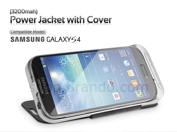 Power Jacket Galaxy S4 Battery Case