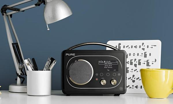 Pure Evoke F4 Portable Internet Radio with Bluetooth ...