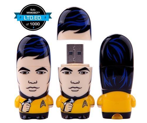 Star Trek Mr. Sulu Mimobot USB Drive