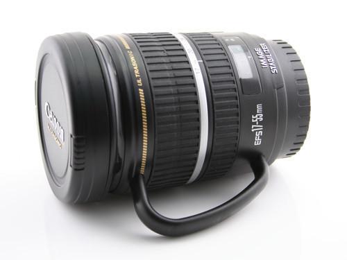 The Canon Camera Lens Thermos Mug