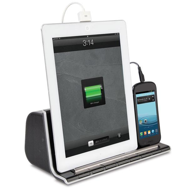 The Charging Bluetooth Dock Speaker for Tablet and Smartphone