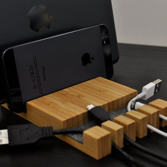 The Docking Station with Cable Organizer