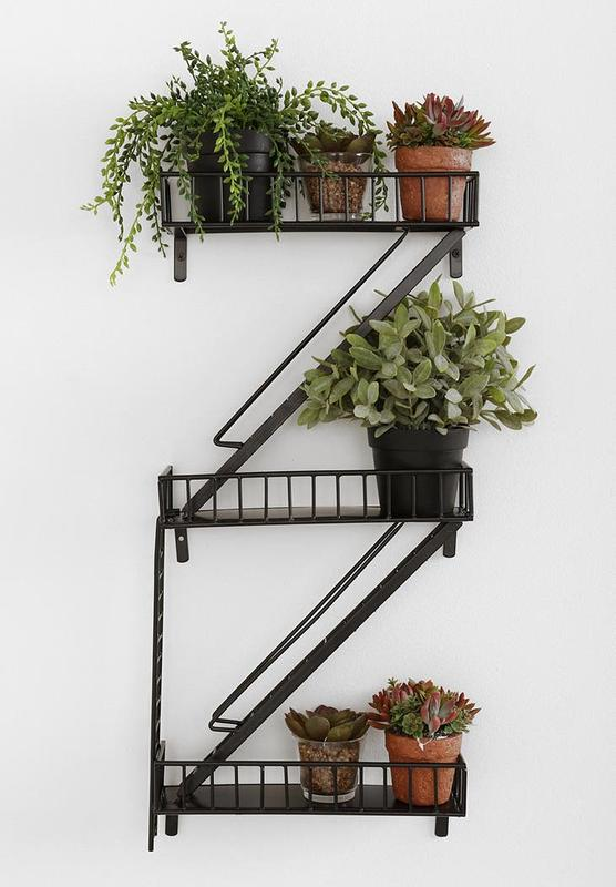 The Fire Escape Wall Shelf