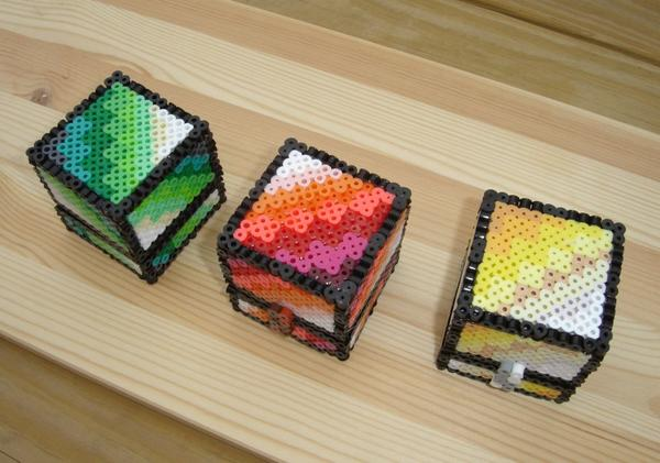 The Handmade 8-Bit Treasure Chest Inspired by Minecraft