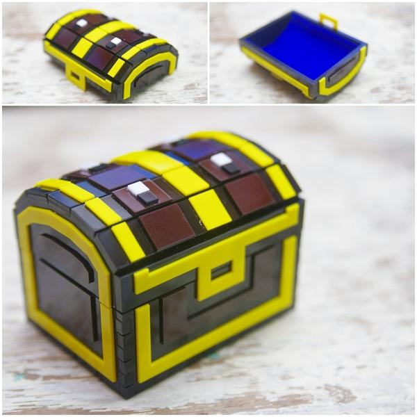 The Handmade Pixelated Treasure Chest Inspired by The Legend of Zelda