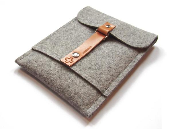 The Handmade Wool iPad Mini Sleeve