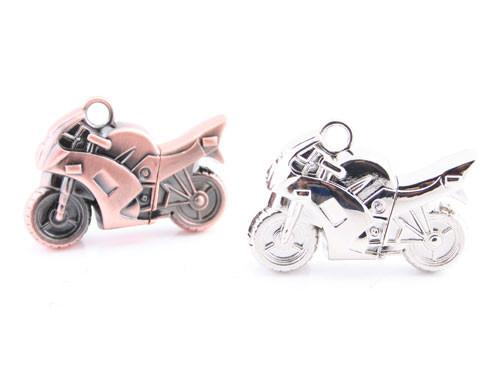 The Metallic Racing Motorcycle USB Flash Drive