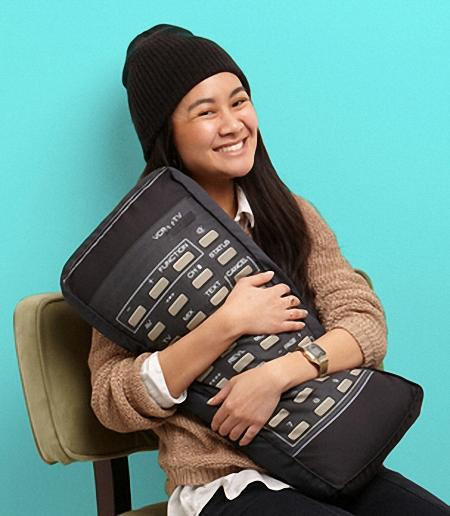 The Retro Remote Control Pillow