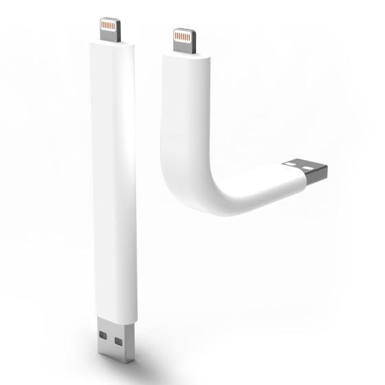 The Truck Lightning Charging Cable for iPhone 5 and iPod Touch 5G