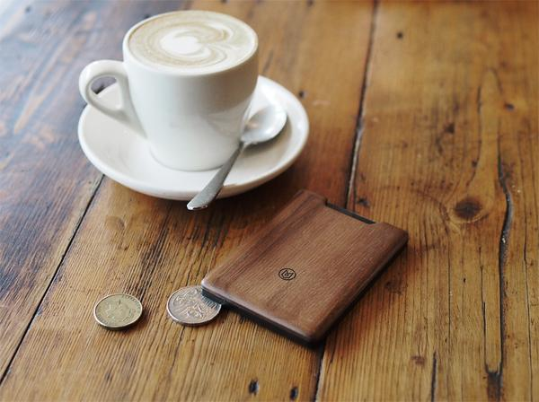 The Union Wood Slim Wallet