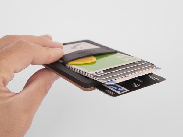 The Union Wood Slim Wallet