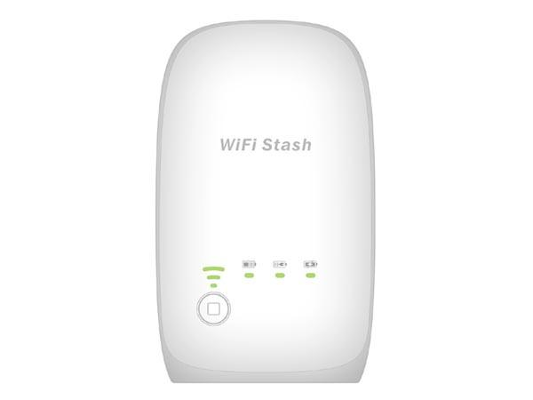 WiFi Stash Portable Wireless Card Reader with Backup Battery