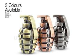 The Metallic Grenade Styled USB Flash Drive