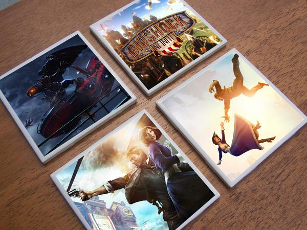 BioShock Infinite Coaster Set