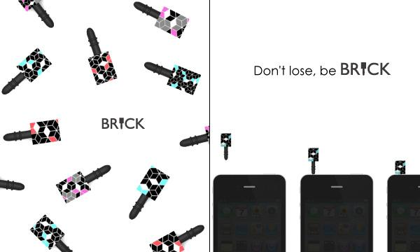 Brick USB Flash Drive Design Concept
