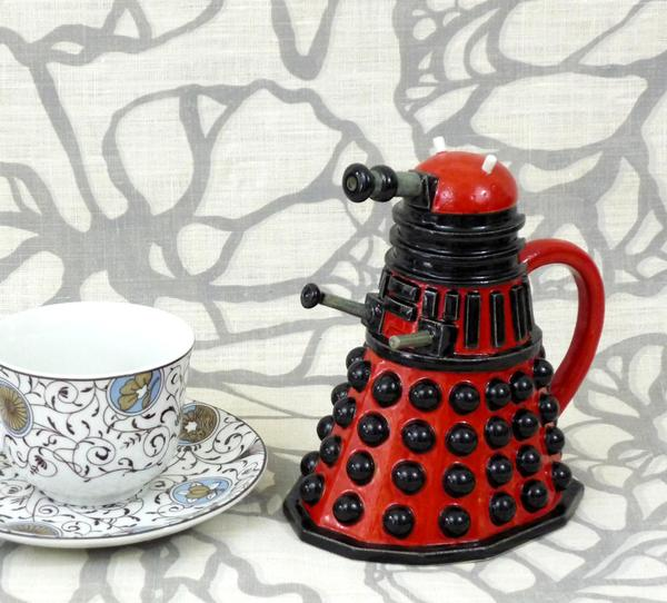 Doctor Who Dalek Ceramic Pitcher