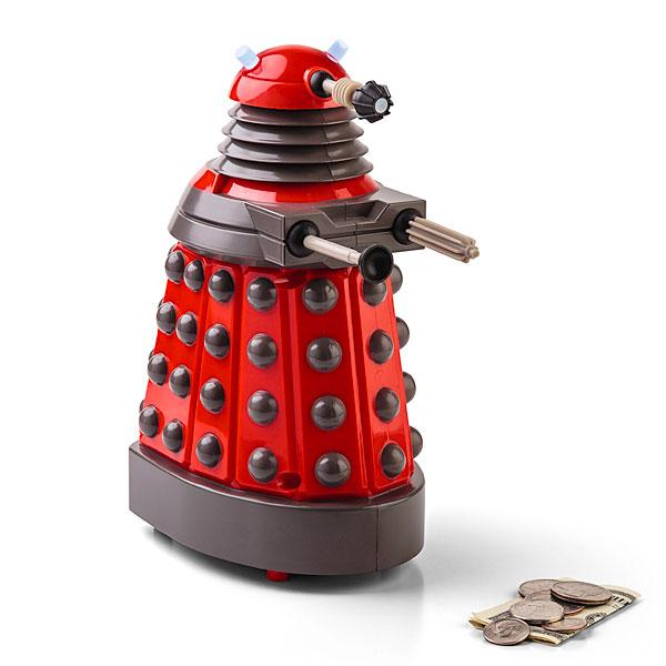 Doctor Who Dalek Talking Money Bank