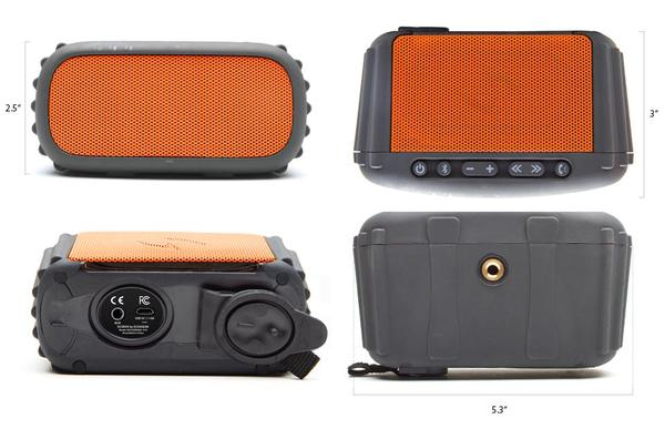 ECOXGEAR ECOROX Waterproof Bluetooth Wireless Speaker
