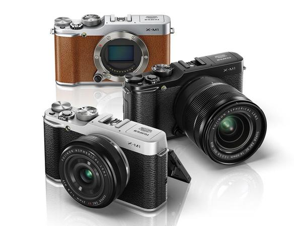 Fujifilm X-M1 Mirrorless Camera Announced