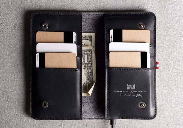 Hard Graft Heritage iPhone Wallet