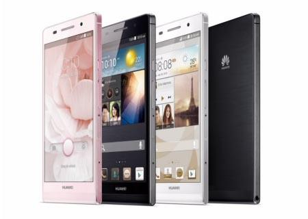 Huawei Ascend P6 Android Phone