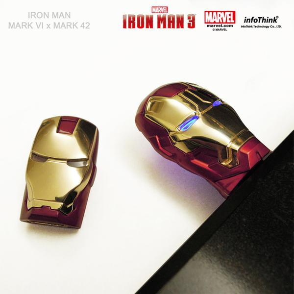 Iron Man 3 Mark 42 Helmet USB Flash Drive