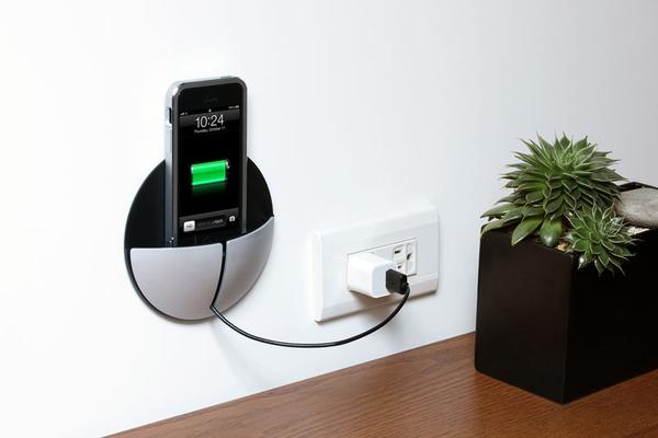 Just Mobile Alupocket Iphone Wall Mount Gadgetsin