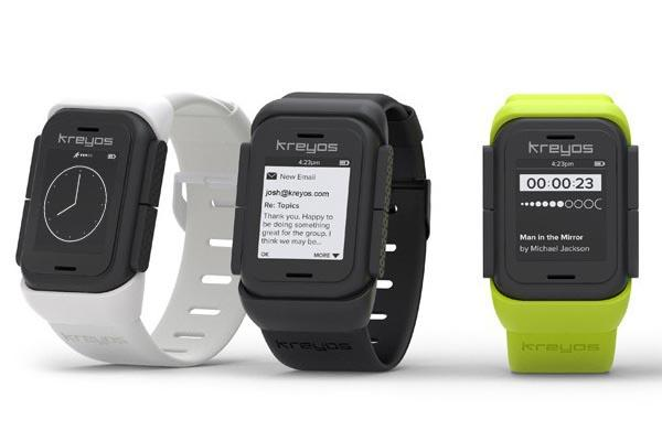 Kreyos Meteor Smart Watch with Voice and Gesture Control