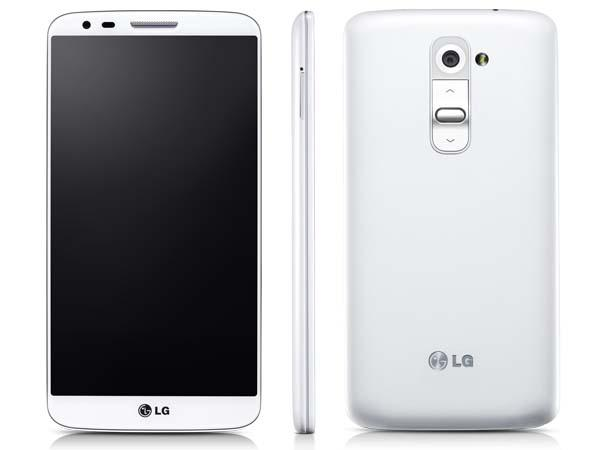 LG G2 Android phone comes in white and black, and will be available in ...