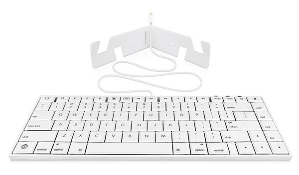 Macally Wired Keyboard for iPhone iPad and iPod Touch