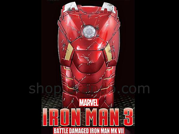 Marvel Battle Damaged Iron Man Mark VII iPhone 5 Case