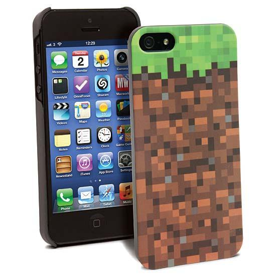 Minecraft Grassy Block iPhone 5 Case