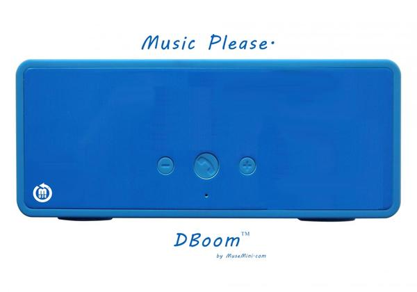 MuseMini DBoom Customizable Portable Bluetooth Wireless Speaker