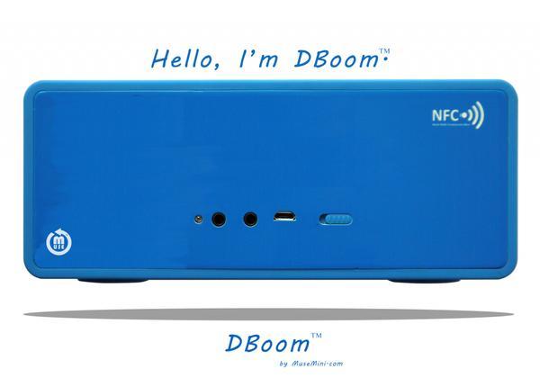 MuseMini DBoom Customizable Portable Bluetooth Wireless Speaker